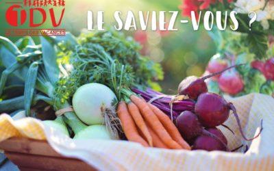 Le TDV s'engage ! Repas végétariens