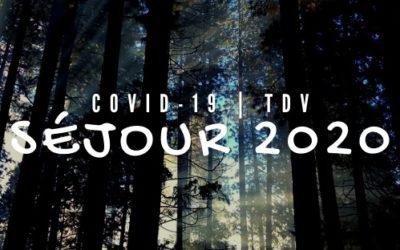 Annulation des séjours 2020 – Covid 2019