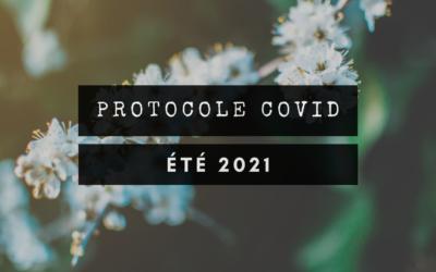 IMPORTANT : Protocole Covid-19 au Temps des Vacances – 2021